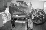Mansfeld snijmachine uit de jaren '60.