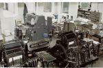 Diverse Heidelberg persen begin jaren '90 in de drukkerij.