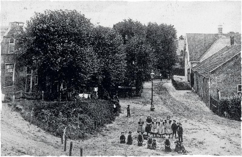 Drukkerij Bout Huizen : Oud huizen deel omgeving molenberg